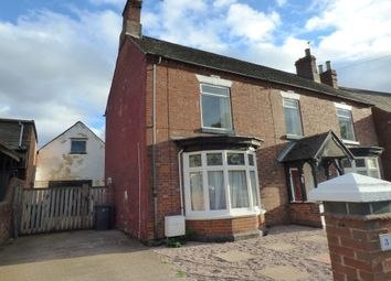 Thumbnail 4 bed detached house to rent in Lullington Road, Overseal, Swadlincote