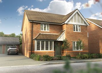 "Thumbnail 4 bed detached house for sale in ""The Harwood"" at Omega Boulevard, Warrington"