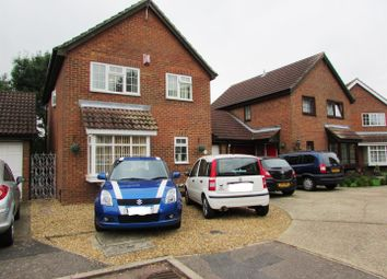 Thumbnail 4 bedroom link-detached house for sale in Newbury Close, Rushden