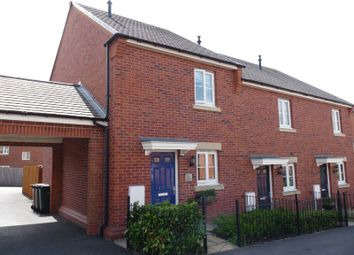 Thumbnail 2 bed terraced house to rent in Napier Close, Castle Gresley, Swadlincote