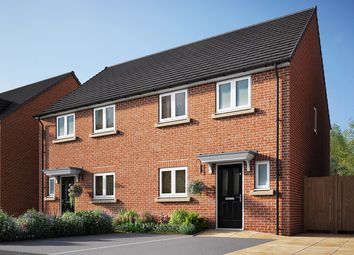 """Thumbnail 3 bed terraced house for sale in """"The Eveleigh"""" at Cobblers Lane, Pontefract"""