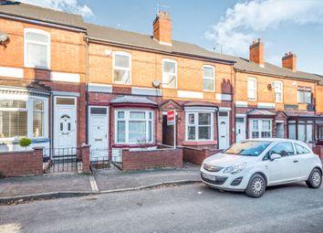 Thumbnail 3 bedroom terraced house for sale in Waverley Road, Darlaston, Wednesbury