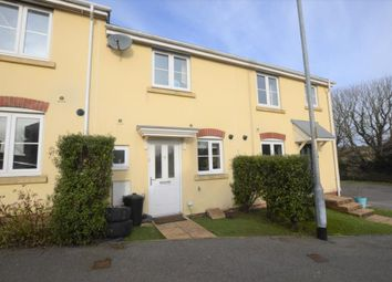 Thumbnail 2 bed terraced house to rent in Plover Avenue, Helston, Cornwall