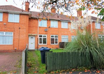 3 bed terraced house for sale in Milcote Road, Birmingham B29