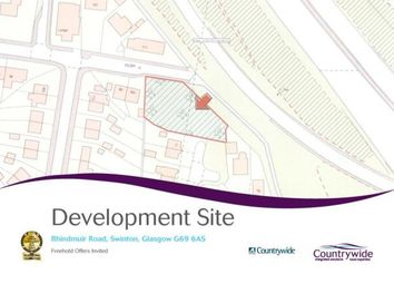 Thumbnail Land for sale in Rhindmuir Road, Baillieston, Glasgow, Lanarkshire