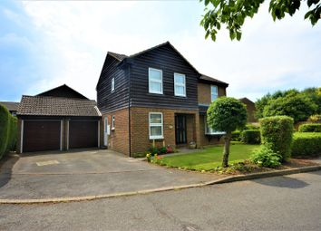 Thumbnail 4 bed detached house for sale in Elkins Gardens, Guildford