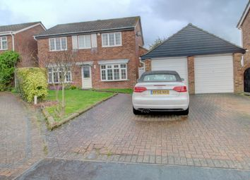 Thumbnail 4 bed detached house for sale in Glebe Close, Great Paxton, St. Neots