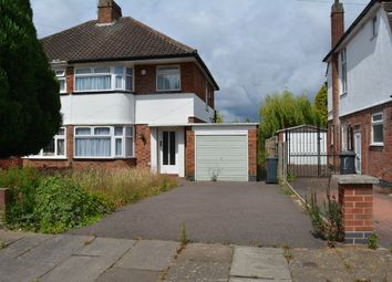 Thumbnail 3 bed semi-detached house for sale in Ensbury Gardens, Off Spencefield Lane, Leicester