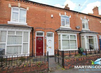 Thumbnail 2 bed terraced house to rent in Clarence Road, Harborne