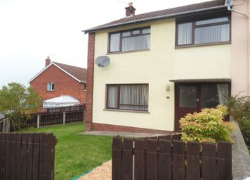Thumbnail 3 bed terraced house to rent in Queens Avenue, Newtownabbey