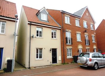 Thumbnail 3 bedroom town house for sale in Fulham Way, Ipswich