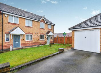 Thumbnail 3 bed semi-detached house for sale in The Hawthorns, Kirkby-In-Ashfield, Nottingham