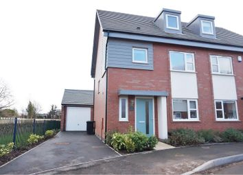 Thumbnail 4 bedroom semi-detached house for sale in Summer Crescent, Beeston
