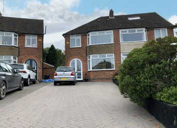 Thumbnail 4 bed semi-detached house for sale in Velsheda Road, Shirley, Solihull