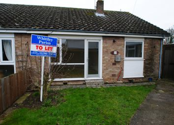 Thumbnail 2 bed semi-detached bungalow to rent in Beech Way, Dickleburgh, Diss