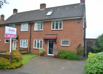 Thumbnail 4 bed semi-detached house to rent in Upland Way, Epsom