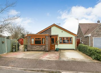 Thumbnail 3 bed detached bungalow for sale in Hamilton Way, Ditchingham, Bungay, Norfolk