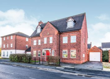 Thumbnail 6 bed detached house for sale in Worthington Road, Fradley, Lichfield