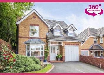 Thumbnail 4 bed detached house for sale in Cedar Wood Drive, Rogerstone, Newport