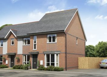 """Thumbnail 3 bed semi-detached house for sale in """"Hutchins"""" at Hyde End Road, Spencers Wood, Reading"""