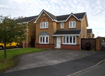 Thumbnail 4 bed detached house for sale in Wood Sorrel Way, Lowton, Warrington, Greater Manchester