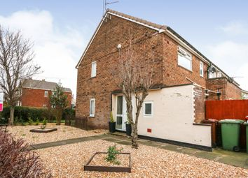 Thumbnail 2 bed flat for sale in Annes Crescent, Scunthorpe