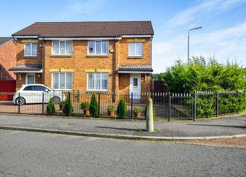 Thumbnail 3 bedroom semi-detached house for sale in Calfhill Road, Pollok, Glasgow