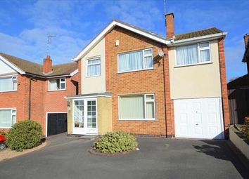 Thumbnail 4 bed detached house for sale in Wolds Rise, Keyworth, Nottingham