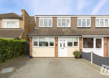 Thumbnail 4 bed semi-detached house for sale in Roseberry Gardens, Upminster