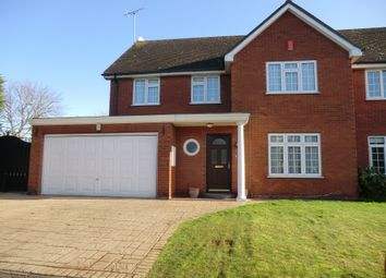 Thumbnail 4 bed semi-detached house to rent in Ashbury Close, Hatfield