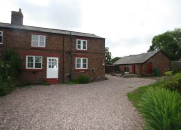 Thumbnail 3 bed cottage to rent in Alpraham Green, Tarporley