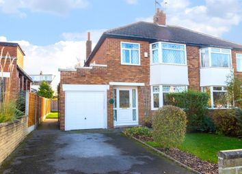 Thumbnail 3 bed semi-detached house for sale in Green Lane, Cookridge