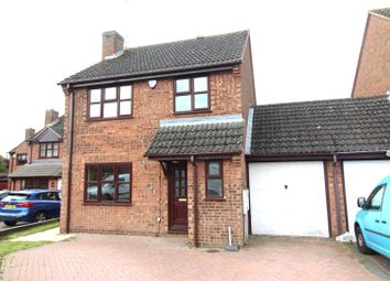 Thumbnail 3 bed link-detached house to rent in Cambridge Street, Wymington, Rushden