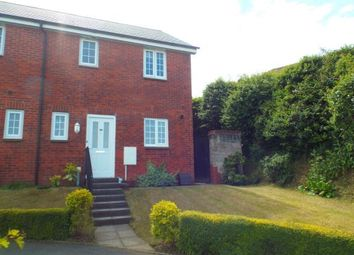 Thumbnail 3 bed end terrace house for sale in Okehampton, Devon, England