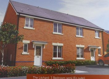 Thumbnail 3 bed semi-detached house to rent in St. Llids Meadow, Llanharan, Pontyclun