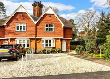 Thumbnail 2 bedroom semi-detached house for sale in Rise Road, Sunninghill, Sunningdale, Berkshire