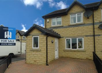 Thumbnail 3 bed semi-detached house for sale in Redwood Crescent, Bradford, West Yorkshire