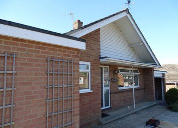 Thumbnail 3 bed bungalow to rent in Bancroft Close, Stoke Holy Cross, Norwich