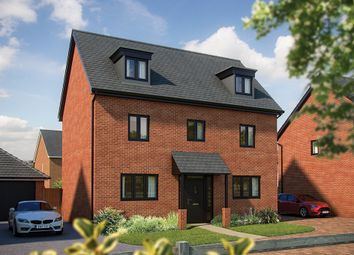 "Thumbnail 5 bedroom detached house for sale in ""The Yew"" at London Road, Norman Cross, Peterborough"
