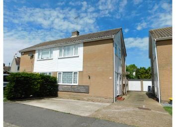 Thumbnail 3 bed semi-detached house for sale in Pembury Close, Worthing