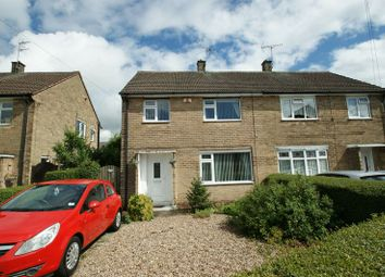 Thumbnail 3 bed semi-detached house for sale in Abbots Close, Daybrook, Nottingham
