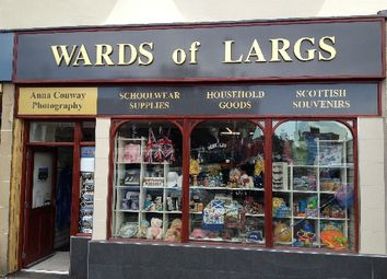 Retail premises for sale in Largs, Ayrshire KA30