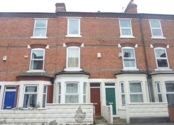 Thumbnail 3 bed terraced house to rent in Wimbourne Road, Radford, Nottingham