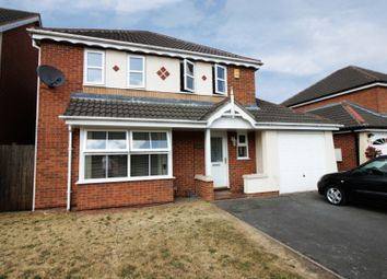 Thumbnail 4 bed detached house for sale in Jewsbury Way, Braunstone, Leicestershire