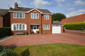 Thumbnail 5 bed detached house for sale in Rydal Way, Alsager, Cheshire