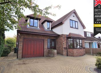 Thumbnail 5 bed detached house for sale in Bull Lane, Rayleigh