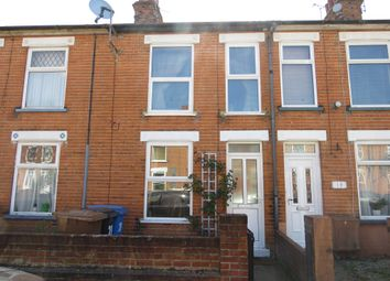 Thumbnail 2 bed terraced house for sale in Coronation Road, Ipswich