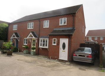 Thumbnail 3 bed end terrace house for sale in Tortoiseshell Way, Wymondham