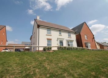 Thumbnail 4 bed detached house for sale in Caudwell Close, Coleford