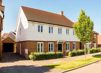 Thumbnail 4 bed detached house for sale in Pelling Way, Broadbridge Heath, Horsham, West Sussex